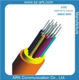 câble d'intérieur de la structure 8f sèche de fibre optique pour l'arche d'utilisation de tresse