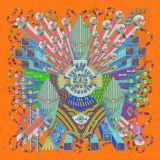 Bella sciarpa di seta stampata Digitahi (F13-0032)