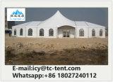 Combinação projetada excelente da barraca do casamento do partido do PVC do famoso do pico elevado