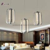 Hängende Kristalllampe mit Aluminium für Dekoration