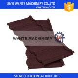 Brown-Bond-/klassischer Stein-überzogene Metalldach-Fliese für Dach-Dekoration