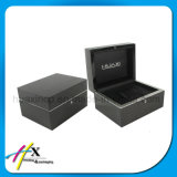 Noir Paino Laque Montre en bois / Bijoux Cadeau Display Packaging Box