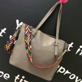 주식 Emg4592에 있는 간단한 형식 숙녀 어깨에 매는 가방 물색 여자 핸드백