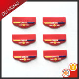 Contrassegno di gomma del PVC dei prodotti del guanto del cappello del silicone esterno degli accessori