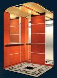 Decoraton 나무로 되는 오두막을%s 가진 전송자 엘리베이터