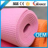 Stuoia su ordinazione antiscorrimento di yoga del PVC di Eco della stampa di doppio strato di vendita della fabbrica