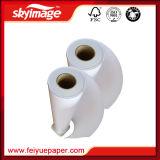 90GSM 610 mm * 24 인치 - 높은 속도 Anti-Curl 염료 승화 전사지 Dor 산업 인쇄 기계