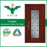 Нов дверь обеспеченностью конструкции алюминиевая