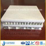 Panneau en aluminium normal de nid d'abeilles de pierre de construction pour la décoration de mur