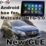 Interfaz video androide de la navegación del GPS para la clase de Gle de Mercedes-Benz (NTG-5.0)
