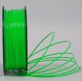 Filamento del metal del filamento del material plástico 3D del filamento del PLA del oro para la impresora 3D
