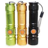 Outsdoor USBRehcrageable CREE T6 10W Summen-Fahrrad-Taschenlampe