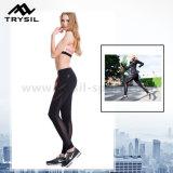 Pantaloni stretti sexy di yoga dei pantaloni delle signore con la maglia respirabile