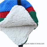 POM POMの帽子の帽子の帽子のジャカード帽子によって編まれる帽子