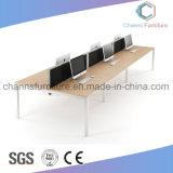 Büro-Schreibtisch mit Partition-Stab-Arbeitsplatz