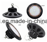 창고와 체육관에 의하여 이용되는 IP65 200W 150W 100W 세륨 RoHS FCC 명부 UFO LED 높은 만 빛
