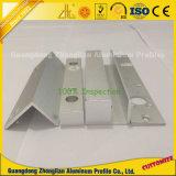 CNC 구멍을 뚫는 단면도를 가진 내밀린 알루미늄 CNC 깊은 가공 단면도