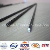 alambre de acero del concreto pretensado 1670MPa con las costillas espirales