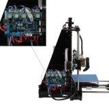 3D impresora, placa completamente ensamblada, calentada Withautomatic que nivela, volumen 210 milímetro X cuadrado de la estructura 205 milímetros de altura, impresión