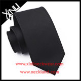 Perfect Knot 100% Handmade Wven Black Silk Neckties