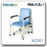 힘에 의하여 입힌 강철 병원은 접히는 Recliner 의자를 동반한다