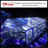 Tente de mariage de jardin extérieur de 15mx30m avec toit transparent
