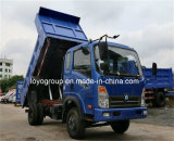 Het 6-wiel van de Vrachtwagen van de Stortplaats van Cdw 115HP van Sinotruk 4X2 6m3 de Vrachtwagen van de Kipwagen