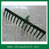 Головка сгребалки сада стали углерода качества сгребалки головная самая лучшая