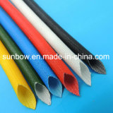 Manicotto resistente a temperatura elevata della vetroresina della gomma di silicone per le componenti elettriche