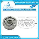 316stainless luz subacuática de la fuente de acero LED (piscina y fuente)