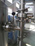 Agua de botella rotatoria automática llena que aclara la máquina de relleno y que capsula que se lava
