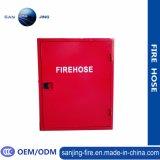 Красный шкаф вьюрка пожарного рукава металла с замком шкафа пожарного рукава