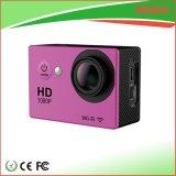 Le degré plein HD 1080P du WiFi 170 imperméabilisent l'appareil-photo de sport pour le vélo