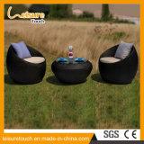 Insieme esterno del sofà del rattan della mobilia della stanza di seduta del giardino della presidenza di figura rotonda dell'uovo