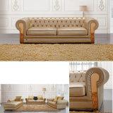 Hauptwohnzimmer-Möbel-Leder-Sofa (HC3009)