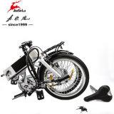 """bici eléctrica plegable del marco de la aleación del Al del blanco 20 de 36V 250W """" mini (JSL039B-10)"""