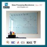 Téléconférence magnétique en verre d'écriture de gomme à effacer sèche pour des approvisionnements d'école