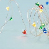 Diamond Shape Micro LED Fairy Wired String Light RGB Multi Color