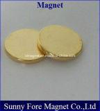 نوع ذهب طلية أسطوانة مغنطيس