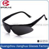 Las gafas de seguridad inastillables económicas del corte de la cebolla borran el funcionamiento de interior de la carpintería roja del templo de la lente o al aire libre para corte de metales