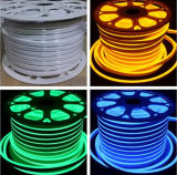Indicatore luminoso al neon SMD2835 impermeabile bianco caldo 50m della corda del LED
