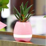 工場価格のLEDライトが付いているスマートなBluetooth音楽植木鉢