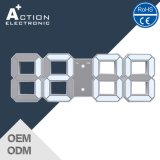 Grote Size 3D LED Wall Clock met Alarm