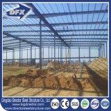 低価格の平屋根の工場研修会の鋼鉄ドームの貯蔵倉