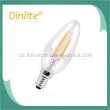 Ampola decorativa do diodo emissor de luz de Dimmable C35 na venda quente