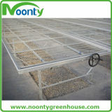 Equipo de invernadero para banco de cultivo de verduras, mesa de apoyo