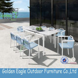Kd New Design Outdoor Cane Dining Set Furniture