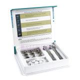 Portable 3 em 1 máquina facial Multifunction da beleza de Microdermabrasion do cuidado