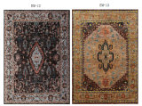 Lanas indias del dormitorio moderno simple de la sala de estar de la alfombra persa de la manera nórdica por completo de las alfombras hechas a mano pastorales americanas de las lanas