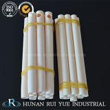 Tubo di ceramica della termocoppia di protezione dell'allumina a temperatura elevata del tubo 99